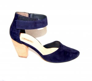 Paul Green Strapped pumps dark blue leather