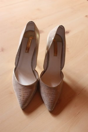 Pumps mit Goldprint Dorothy Perkins