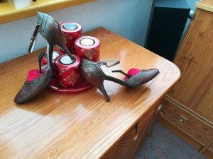 Pumps mit Spange Echt Leder von  Bruno ManettiHabe jetzt nochmalAlles Mega Reduziert