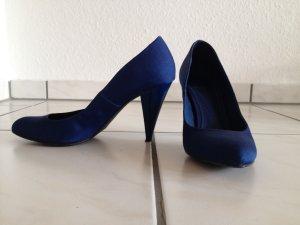 Zara Tacones azul