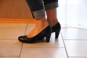"Pumps mit ""touch it"" Sohle"