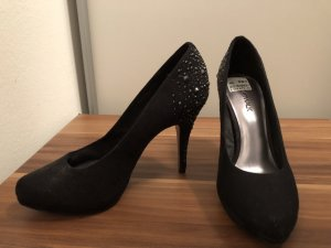 Catwalk Plateauzool pumps zwart