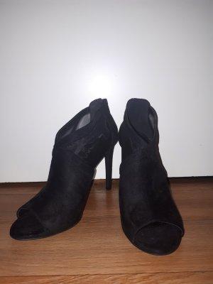 Catwalk Chaussure à talons carrés noir