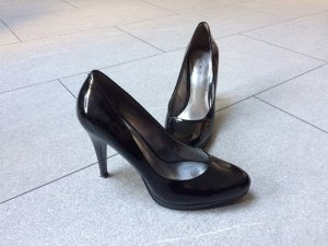 Pumps Nine West Gr. 39 Echtleder Lack