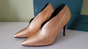 aeyde Pumps gold-colored leather