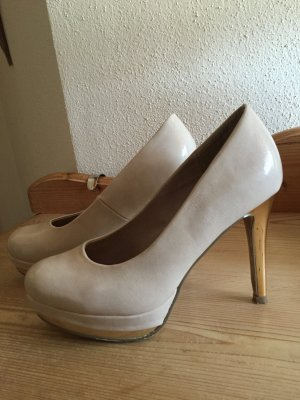 Pumps nude gold Gr. 36