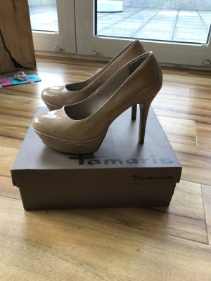 Pumps, nude, Tamaris, Gr. 38