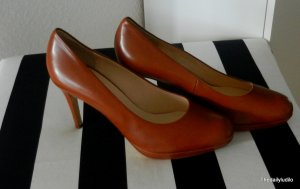 Pumps/Office/Cognac/Edel/Klassiker/