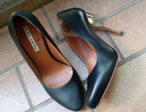 & other stories High Heels black leather