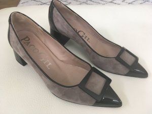 Pumps Paco Gil  Taupe/Schwarz Gr. 38
