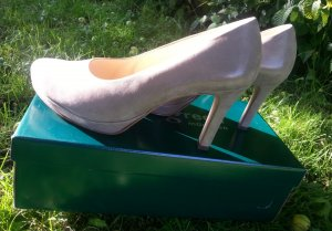 Pumps * Plateau * Metallic Look * Neu *