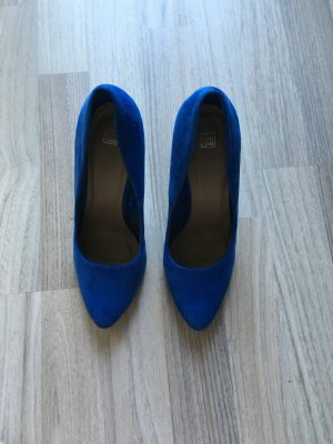 Pumps royalblau 10 cm