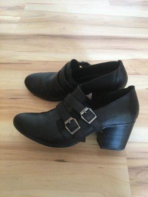Gerry Weber Chaussure à talons carrés noir cuir