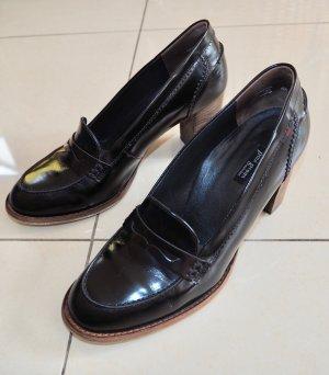 Pumps Schuhe Damen Paul Green Leder Schwarz 40