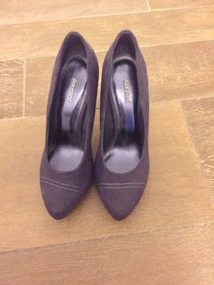 Pumps Schuhe lila Plateau Graceland 39 schlicht wie neu