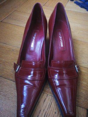 Sergio Rossi Slippers cognac-coloured