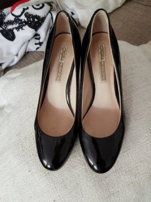 Pumps schwarz Lackleder Buffalo London
