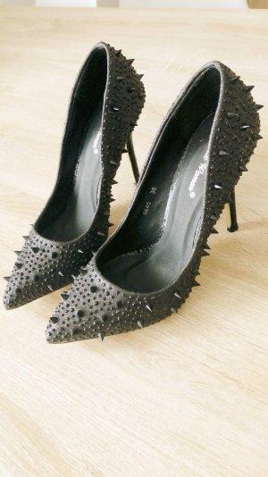 Belle Women Tacones negro