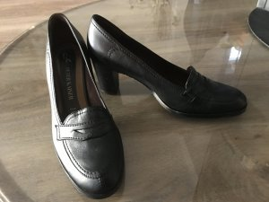 Peter Kaiser Loafer nero Pelle