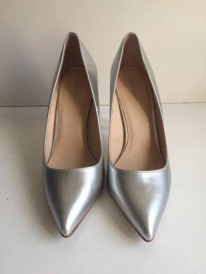 Pumps - Silber, Größe 39