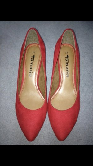 Pumps Tamaris rot