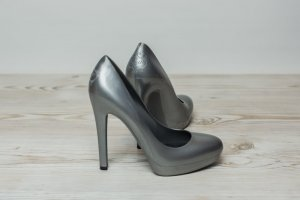 Pumps The Glow Brand 36 Silber