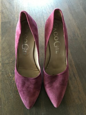 Pumps Velours Lila Paco Gil