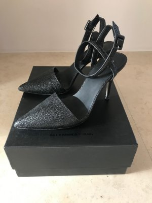 Alexander Wang Pointed Toe Pumps black leather