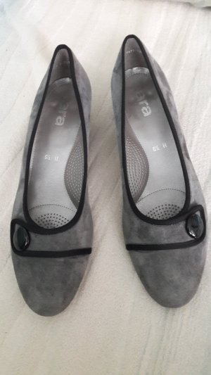 ara Backless Pumps grey