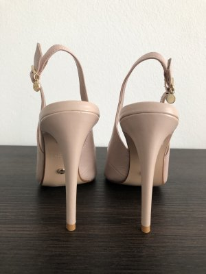 Dune Slingback Pumps pink-gold-colored