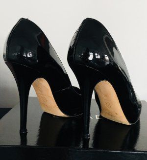 Escada High Heels black-gold-colored