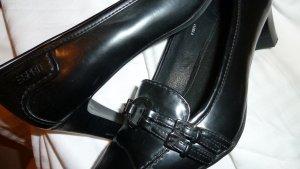 Pumps von Esprit, Leder , schwarz