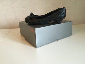 Esprit Loafers zwart Imitatie leer
