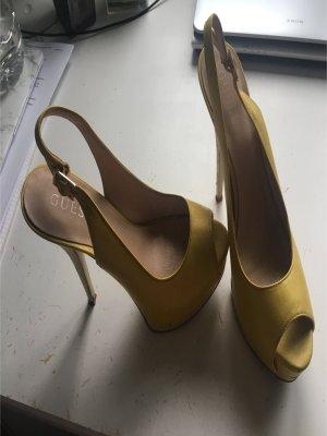 Guess Tacones color oro