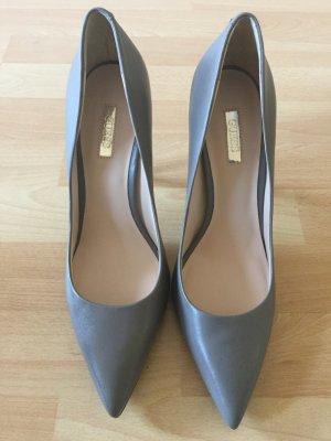 Guess Zapatos de punta marrón grisáceo-gris oscuro
