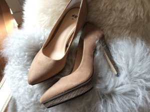 H&M Pumps grey brown-black brown