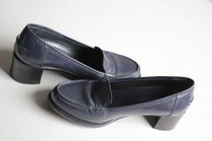 Jil Sander Zapatos Informales violeta grisáceo-taupe Cuero