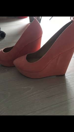 Pumps von JustFab, orange
