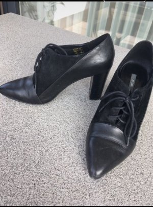 Kiomi Escarpins à lacets noir
