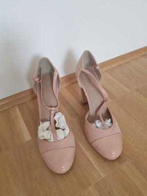 Marco Tozzi High-Front Pumps rose-gold-coloured-dusky pink