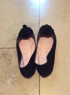 Pretty ballerinas Ballerines noir cuir
