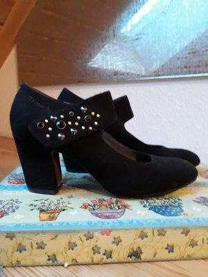 Tamaris Tacones Mary Jane negro