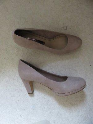 Tamaris Chaussure à talons carrés beige