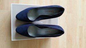 Tamaris Tacones azul oscuro
