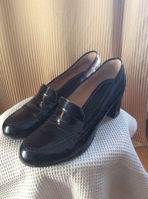 Truman's Loafers zwart bruin Leer