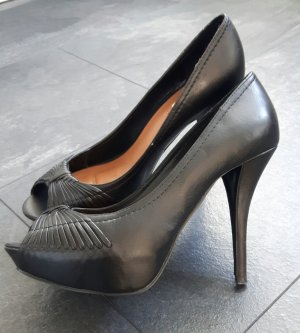 Zara Plateauzool pumps zwart