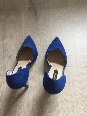 Pumps von Zara in blau