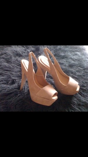 Pumps von zara | Wildleder | high heels