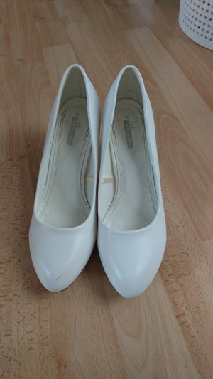 Jumex High-Front Pumps white