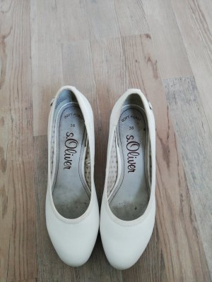 Loafers natural white